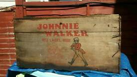 Very rare crate for late 50s a think . Swap for motorbike clothing