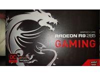 MSI R9 285 2GB OC edition graphics card