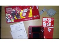 Limited edition Ruby Pokemon Omega 2ds VGC complete with box
