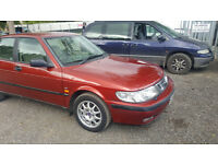 SAAB 9-3 AUTOMATIC. 2.3 LITRE. TINY MILES ONLY 56000! S REG. MOT END OF MAY