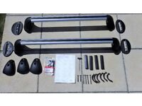 Honda Civic Roof Bars for 2010 (vehicles with glass roof)