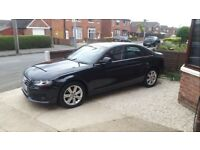 Audi A4 1.9tdi fsh sat nav 2keys parking sensors and camera lots of extras mint condition