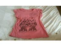 Lady owl top tops fashion clothes