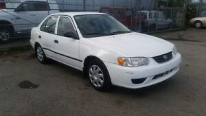 2001 Toyota Corolla for sale, low kilometers