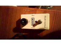 MXR pre amp pedal