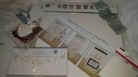 Wedding decorations. Postbox. Crafts.