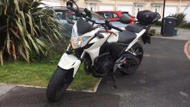 Honda CB500F + extras
