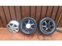 Alloy wheels 4 stud £30