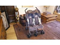 Maclaren Twin Traveller Pushchair, in fantastic condition with full accessories