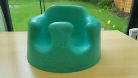 Green bumbo seat