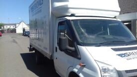 Professional reliable removal company/man with van service large luton van