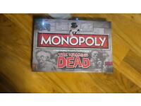 Walking dead monopoly new and sealed