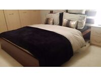 KING SIZE BED (200 X 160CM MATTRESS) GREAT CONDITION