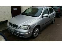 Vauxhall astra SXI 1.6 2002 low milage !!