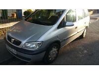 7 SEATER ZAFIRA 1.6 PETROL, ALMOST 1 YEAR MOT,PERFECT FAMILY CAR,VERY GOOD RUNNER,QUICK SALE!!!