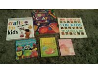 Set of 6 children's craft books