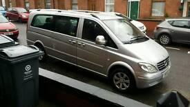Mercedes vito van (minibus)