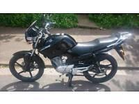 Yamaha YBR 125 61 plate Low mileage Very Clean Condition Similar to cbf en