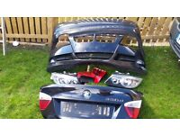 Bmw 3 series bumpers and headlights