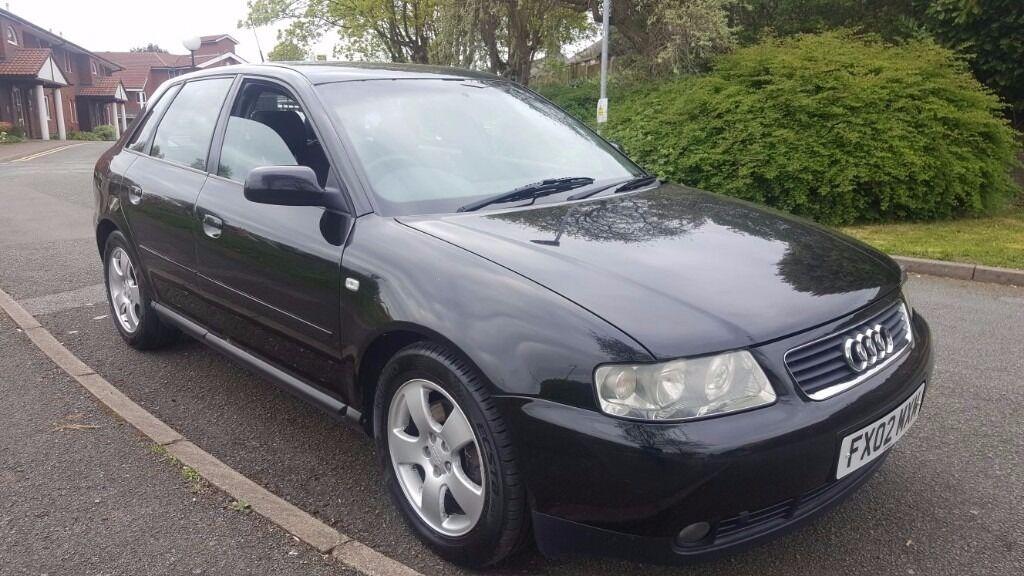 audi a3 1 8 turbo 2002 petrol 5 door hatchback good clean example 2 keys full mot in. Black Bedroom Furniture Sets. Home Design Ideas