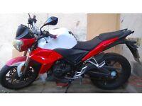 Wk sp125 n beginner motor bike 2014 model for sale £425 ono