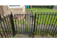 27 ft wrough iron railings and drive gates