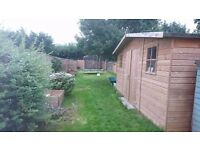 **Do you want to downsize** My 1 bed house huge garden/Your 2/3 bed house Surrey