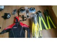 Diving equipment for sale