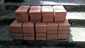Creasing Tiles - 266 unused - Clay - 165mm x 265mm