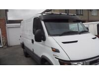 Iveco Daily with low mileage.
