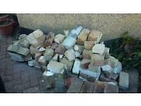 Bricks and brick rubble FREE