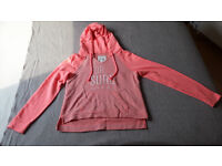 Gilly Hicks orange hoodie (size S)