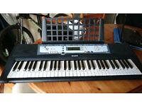 yamaha keyboard and stand plus extras price reduced