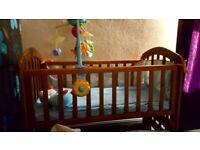 Baby swing cot for sale