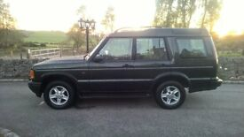 Land Rover Discovery TD5 D2 GS Manual 7 seater Green Air Suspension
