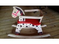 Janod wooden Rocking horse, great condition