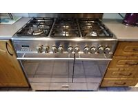 Kenwood Range Cooker - 6 Ring Gas hob & Double Electric Oven