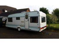 Abi dalesman 4 berth caravan with full awning