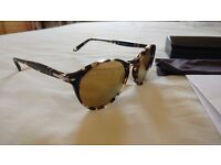 PERSOL (italy) Polarized Sunglasses with crystal lenses (not glass)*WORN ONCE* Bargain.