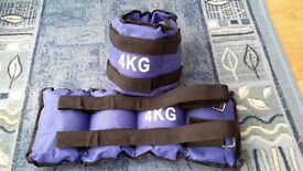 4 kg ankle weights