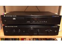 Hi-fi system: Cambridge Audio Amplifier & CD Player with Eltax Speakers
