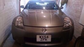 Nissan 350z 2004 damaged, for spares or repair, No engine (unrecorded)