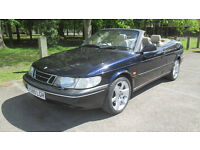 Saab 900 Special Convertible: Excellent Condition. Great history.