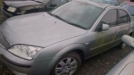 2005 FORD MONDEO ZETEC TDCI 130, 2LT DIESEL, BREAKING FOR PARTS ONLY, POSTAGE AVAILABLE NATIONWIDE
