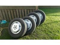 """Fiat Ducato 15""""wheels"""