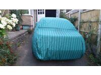 large cotton car cover