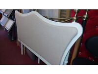 FRENCH STYLE SOLID WOOD HEADBOARD KING SIZE