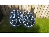 "18"" Vauxhall insginia VXR style alloys"