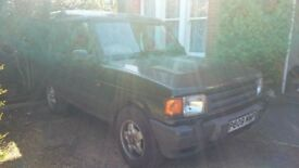 Land Rover Discovery 300tdi SPARES or REPAIR