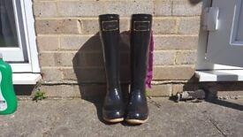 Joules Evedon wellies size 4